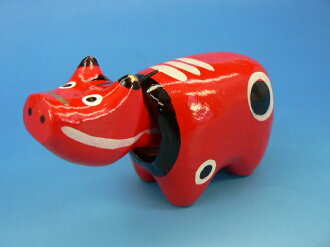 "Fukushima reconstruction! Aizu's ""red mildew this ' charm of Japan"" red mildew this ' is a folk toy"