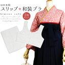 【袴スリップ&和装ブラセット】 はかま を キレイに着こなす...
