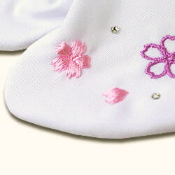 No.3 cherry Swarovski embroidery white tabi socks long-sleeved kimono hakama Quinceanera fs2gm