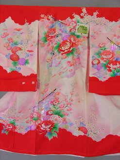 Kids baby clothes from shrine ohatsu wear hire women and girls No.111