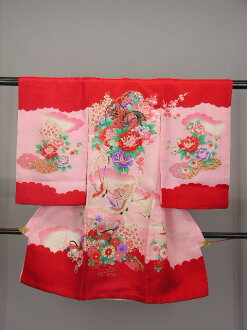 Kids baby clothes from shrine ohatsu wear rental woman girl No.,