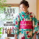 浴衣 セット レディース レトロ ゆかた 2016 新作【送料無料】「きりりStyle」 kimon