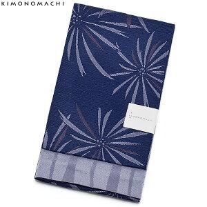 京都きもの町オリジナル浴衣帯単品「紺藍色 花火」小袋帯