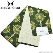 ハナエモリ 半幅帯「深緑色 華文」小袋帯