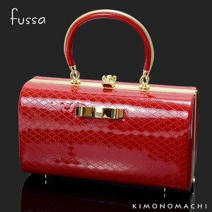 fussa バッグ単品「赤色 リボン」