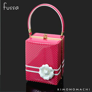 fussa バッグ単品「ピンク レース」