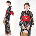 京都きもの町オリジナル 浴衣 セット 女性浴衣3点セット 浴...