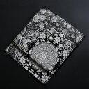 【obi-29-327】豪華高級袋帯レンタル 黒地のフォーマル袋帯