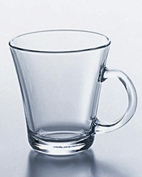 《日本製》ティーブレイク カップ(220ml)【ガラス マグカップ】