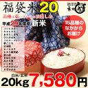 【福袋20】玄米のまま20kgもしくは精米済み白米20kg【...