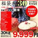 【福袋30】玄米のまま30kgもしくは精米済み白米27kg【...