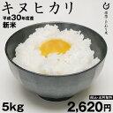 キヌヒカリ 環境こだわり米 5kg 【平成30年:滋賀県産】...