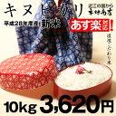 【新米!】キヌヒカリ 環境こだわり米 10kg【平成28年・滋賀県産】【あす楽対応♪】【送料無料】