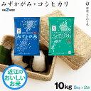 【新米】セット 近江米 みずかがみ 5kg + コシヒカリ ...