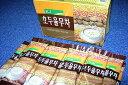 整腸作用がある為、美肌に效果的!韓国伝統茶!高級KJホドゥユルム茶『韓国はと麦茶』(22g×15スティック入り)