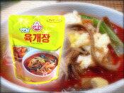 韓国、日本でもお馴染み人気商品を自宅で堪能!韓国直輸入!ユッケジャンスープの素300g(1人前75kcal)