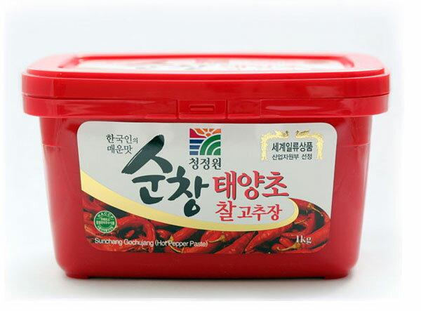 【1KG】唐辛子味噌、スンチャンコチュジャン[コッチジャン 韓国食品 韓国食材]