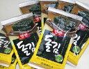 【小】天然の岩海苔を使った韓国海苔ヤンバンギム(8切サイズ8枚×8)[韓国食材]