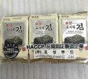 韓国海苔サンプジャ(10枚入×3袋)[韓国食材](包装は写真...