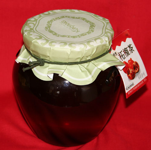 Korea traditional tea, pomegranate tea (Garnet)