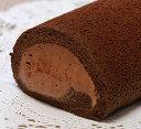"""チョコ好きのためのロールケーキです♪ベルギー産チョコを使った""""極ショコラロール"""""""