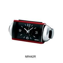 セイコー 目覚まし時計 NR442R(赤)大音量ベル音アラーム(スヌーズ機能付き)メーカー1年保証 正規品 セイコークロック