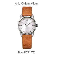 正規品 カルバンクライン腕時計 K2G23120シティ(レディス) 銀文字盤 ck cityメーカー2年保証 Calvin Klein