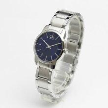 正規品 カルバンクライン腕時計 K2G2314Nシティ(レディース/女性用)ブルー文字盤 ck cityメーカー2年保証 Calvin Klein