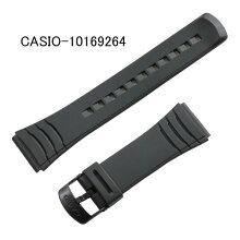 【ネコポス対応可】カシオ腕時計用バンド・ベルト/DBC-32用ウレタン/黒色ブラック(合成ゴム)CASIO部品番号:10169264