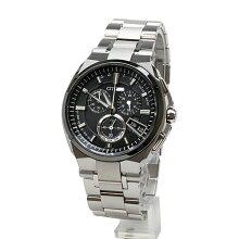 シチズン腕時計 アテッサ(ATTESA) BY0040-51F黒文字盤 メンズ 電波時計 メーカー1年保証 正規品 CITIZEN ATTESA