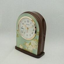 セイコー置き時計 QK736L アラーム機能付きメーカー1年保証 SEIKO-CLOCK-QK736L