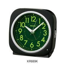 セイコー 目覚まし時計 KR889K電子音アラーム(スヌーズ機能)付きメーカー1年保証 正規品 セイコークロック