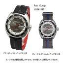 正規品 ハミルトン腕時計 H35415981 パンユーロ(3針モデル)グレー文字盤/ブラックカーフストラップ(グレーテキスタイルストラップ付…