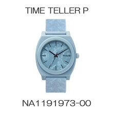 正規品 ニクソン腕時計 Time Teller P/Light Blue Paisley(ユニセックス)/NA1191973-00メーカー2年保証 NIXON 腕時計