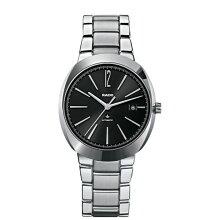正規品 ラドー腕時計 R15.329.15.3Dスター(メンズ)D-Star/黒文字盤/SSブレスレットメーカー2年保証 RADO-R15329153