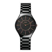 【お取り寄せ商品】正規品 ラドー腕時計 R27.741.15.2ラドー トゥルー シンライン(メンズ)黒 RADO TRUE THINLINEメーカー2年保証 RADO-R27741152