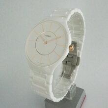 正規品 ラドー腕時計 R27.957.10.2ラドー トゥルー シンライン(メンズ)白 RADO TRUE THINLINEメーカー2年保証 RADO-R27957102