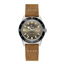 正規品 ラドー腕時計 R32500315(自動巻き)ラドー キャプテンクック オートマチック 1962 リミテッド エディション(世界限定1962本)トラベルケース付き茶色文字盤/ブラウンレザー・メーカー2年保証