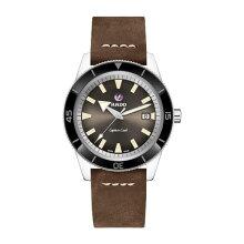 正規品 ラドー腕時計 R32505305(自動巻き)ラドー キャプテンクック オートマチック 茶色文字盤/ブラウンレザー・メーカー2年保証