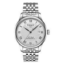 正規品 ティソ腕時計 T006.407.11.033.00(メンズ)シルバー文字盤/ブレスレット(機械式自動巻きモデル)TISSOT LE LOCLE Powermatic 80メーカー2年保証 TISSOT−T0064071103300