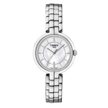 正規品 ティソ腕時計 T094.210.11.111.00/ホワイトMOP文字盤/ブレスレット(クォーツ)/TISSOT FLAMINGO・フラミンゴ(レディース)/メーカー2年保証・TISSOT−T0942101111100