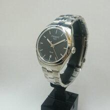 正規品 ティソ腕時計 T101.410.11.051.00黒文字盤/ブレスレット(クォーツ)Tissot PR100 Gent(メンズ)メーカー2年保証 TISSOT−T1014101105100