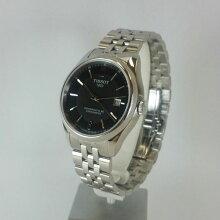 正規品 ティソ腕時計(バラード オートマチック)T108.408.11.057.00 黒文字盤/ステンレスブレスレット(機械式自動巻きモデル)BALLADE AUTOMATIC Gent(メンズ)メーカー2年保証TISSOT−T1084081105700