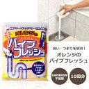 /オレンジのパイプフレッシュ/10回分 パイプ詰まりに 排水管掃除 パイプクリーナー 排水管クリーナー 排水管 掃除 排水口 排水管洗浄剤