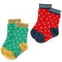 Bobson (ボブソン) ソックス(10〜21cm) キムラタンの子供服 靴下 くつした くつ下 星柄 男の子 女の子