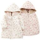 Biquette Club ( ビケット クラブ ) 花柄ブルゾン(80〜130cm ) 【冬物】キムラタンの子供服