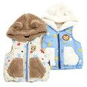 Piccolo ( ピッコロ ) ベスト (80〜90cm ) 【冬物】キムラタンの子供服