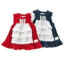 【9/27販売開始】coeur a coeur ( クーラクール ) ワンピース (70〜100cm) 【冬物】キムラタンの子供服