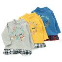 【無料ラッピングキット対象商品】Youpi! トレーナー (80〜130cm) 【冬物】キムラタンの子供服