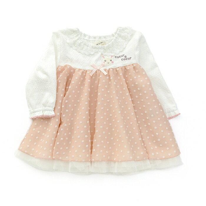 【11/24販売開始】coeur a coeur ( クーラクール ) チュニック (80〜100cm) 【春物】キムラタンの子供服